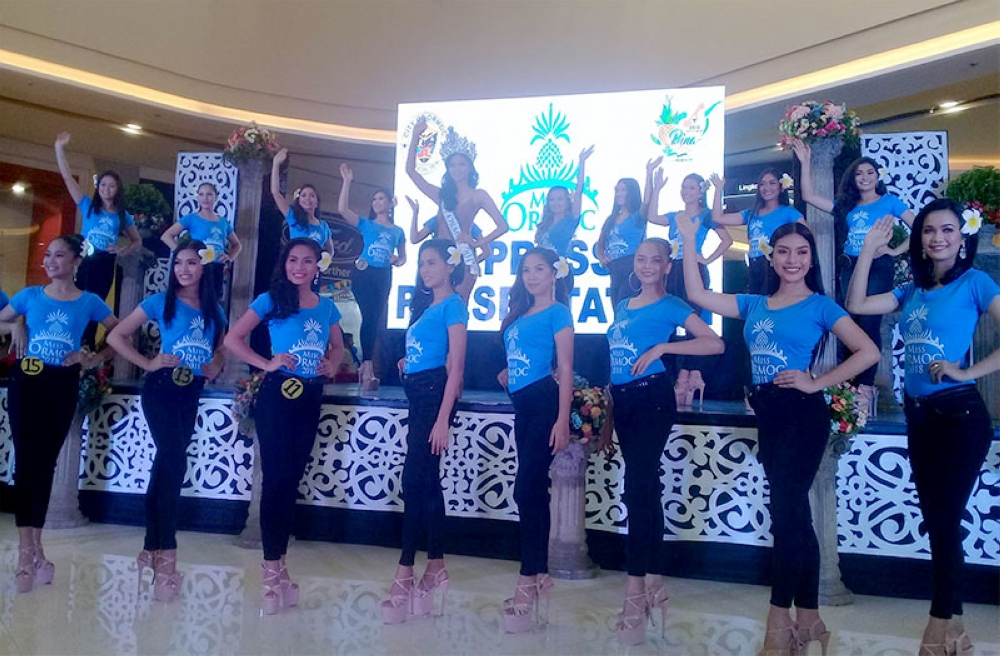 LEYTE. The 20 lovely candidates for Miss Ormoc 2018 being presented to the public and local press on Saturday, June 16, 2018, at the Ormoc Robinsons Place in Ormoc City. (Ronald O. Reyes)