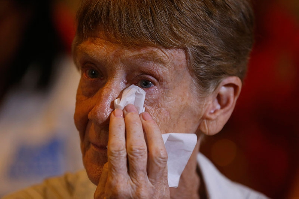 MANILA. Australian nun Sister Patricia Fox is given a respite as the Department of Justice nullified the Bureau of Immigration's order that revoked her missionary visa. (File Photo)