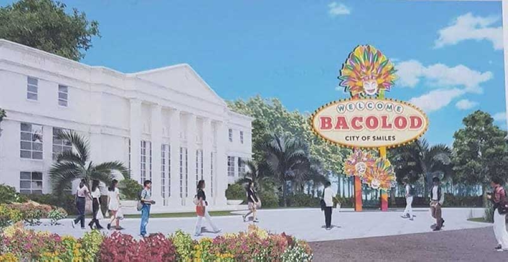 Design of the Bacolod Welcome Park along the Bacolod–Silay Airport Access Road