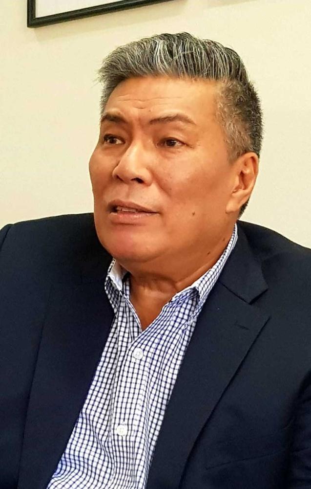 Corazon Locsin Montelibano Memorial Regional Hospital chief, Dr. Julius Drilon