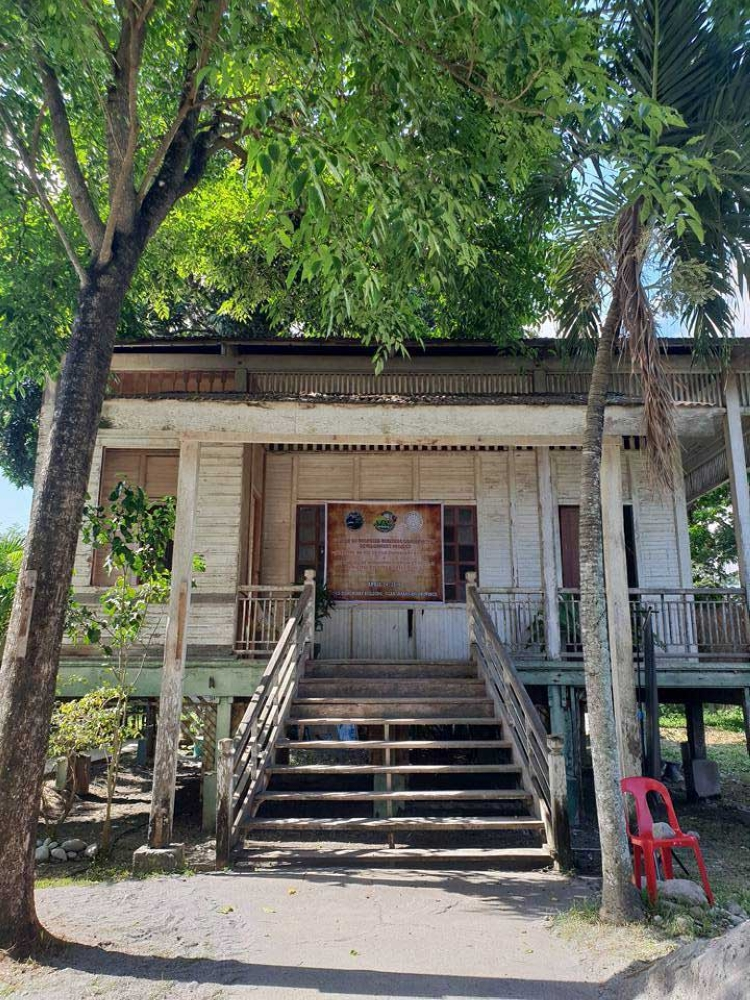 The old Dispensary Building in Glan, Sarangani, now abandoned, is being repurposed as a museum.