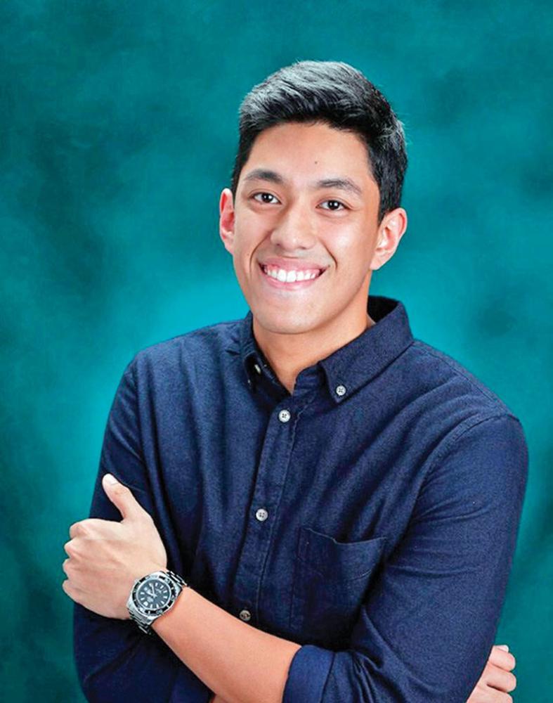 DAVAO. Brandon Chad Cody Tuano-Gahol will be the muse's escort. (Jinggoy Salvador)