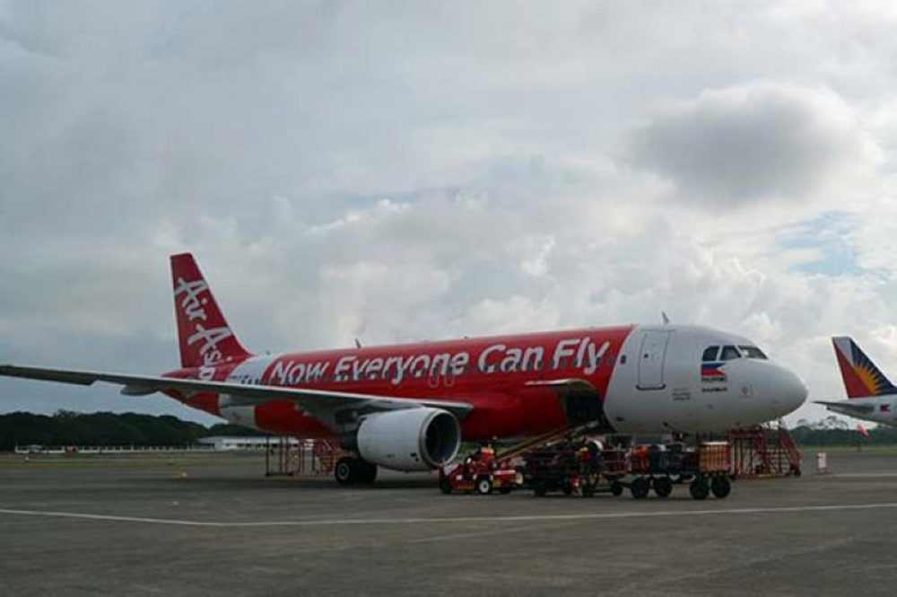 CANCELLED. Air Asia suspends its Davao – Kuala Lumpur direct flight effective August 21 for commercial reasons. (File Photo)