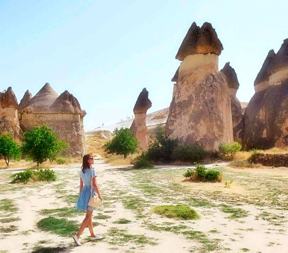Goreme Valley. Walk amongst the magical and otherworldly rockscapes created by Mother Nature.