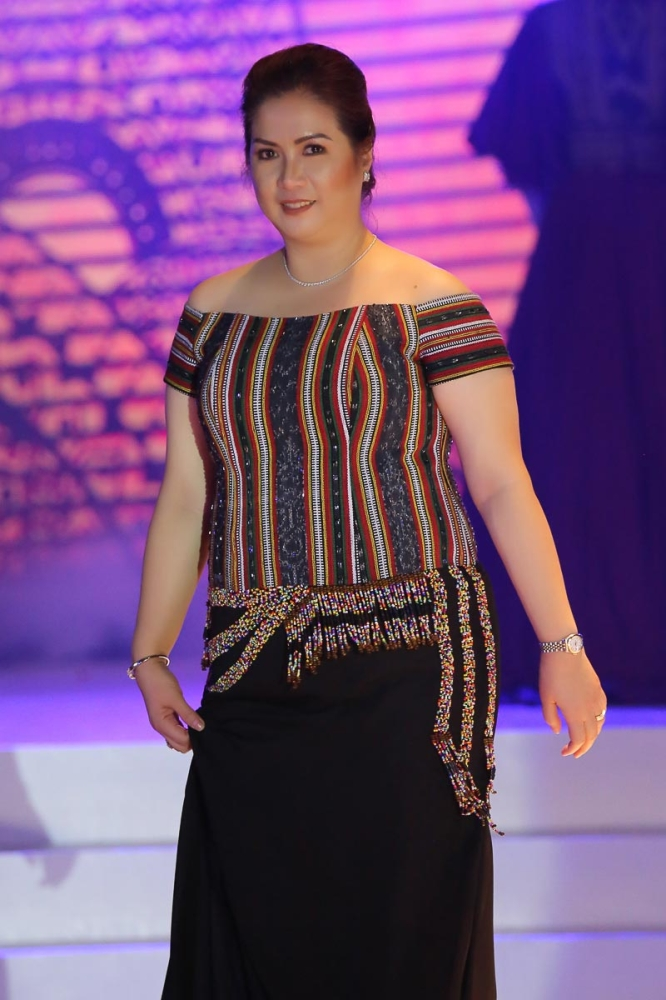 MATI CITY. Davao Oriental First Lady Nanette Dayanghirang. (Eden Jhan Licayan)