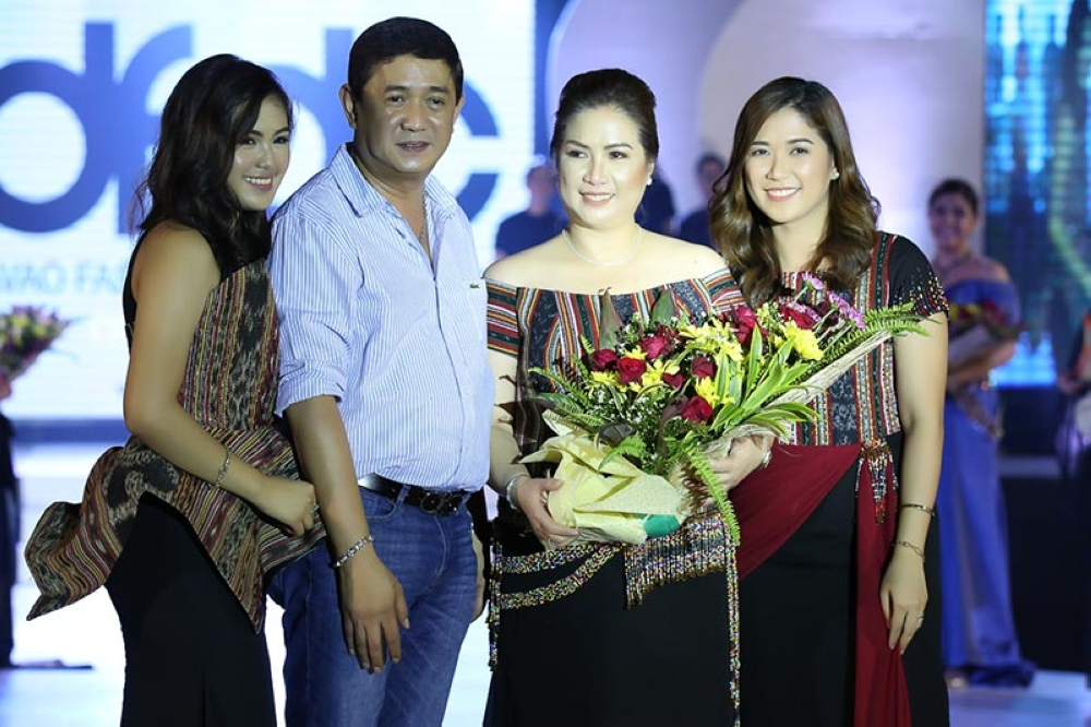 MATI CITY. First family. (From left)Therese Nicole Dayanghirang (daughter), Governor Nelson Dayanghirang, First Lady Nanette Dayanghirang, and Camille Dayanghirang-Chiu (daughter). (Eden Jhan Licayan)