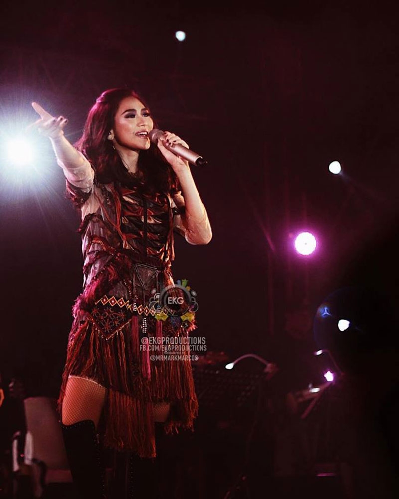 "DAVAO. Sarah Geronimo during her ""This 15 Me"" Concert Philippine Tour last June 30 at the SMX Convention Center Lanang, Davao City. (Photo contributed by EKG Productions)"