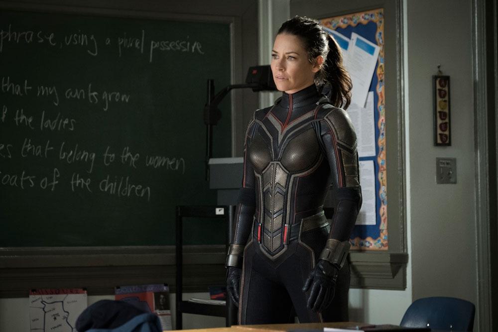 Evangeline Lilly  (Disney/Marvel Studios via AP)
