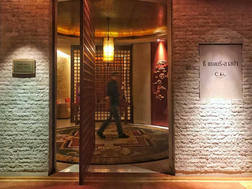 THAILAND. Where you can get your chi flowing in Bangkok, Chi, The Spa at Shangri-La Hotel. (Jinggoy Salvador)