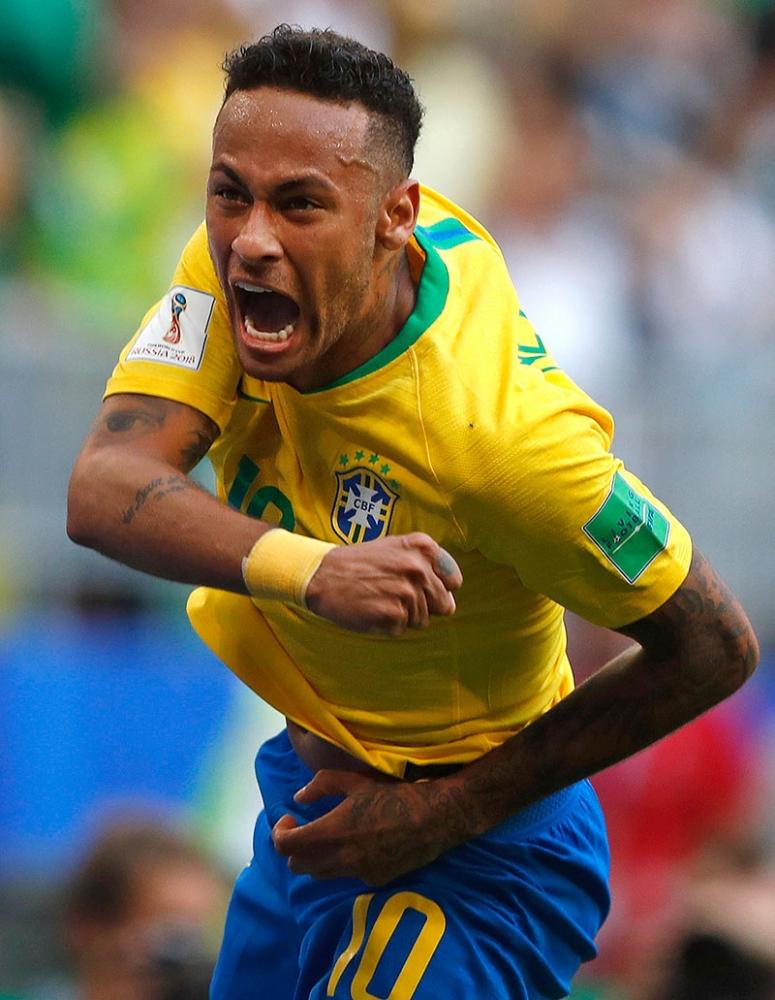 TEAM captain Eden Hazard of Belgium expects a tough challenge against Brazil. (AP)