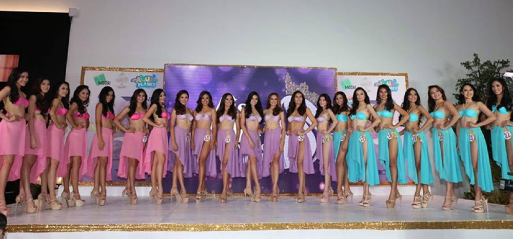 Some 21 beautiful Filipinas from Central Luzon and Metro Manila are competing for the crown of the first Miss Midori Clark 2018. The coronation night is scheduled on August 5 at the Midori Clark Hotel and Casino, Clark Freeport. (Chris Navarro)