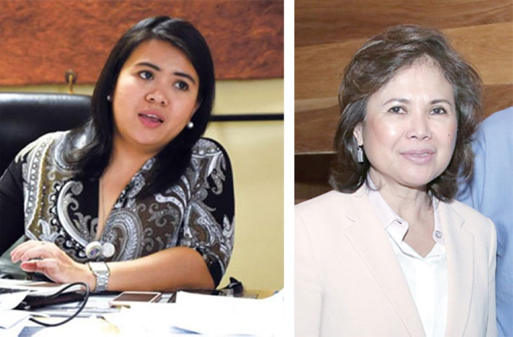 CEBU. (From left) Carmen Remedios Durano-Meca and Mariquita S. Yeung (SunStar file photos)