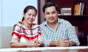 Joseph Elton and Catherine Salimbangon. (Contributed photo)