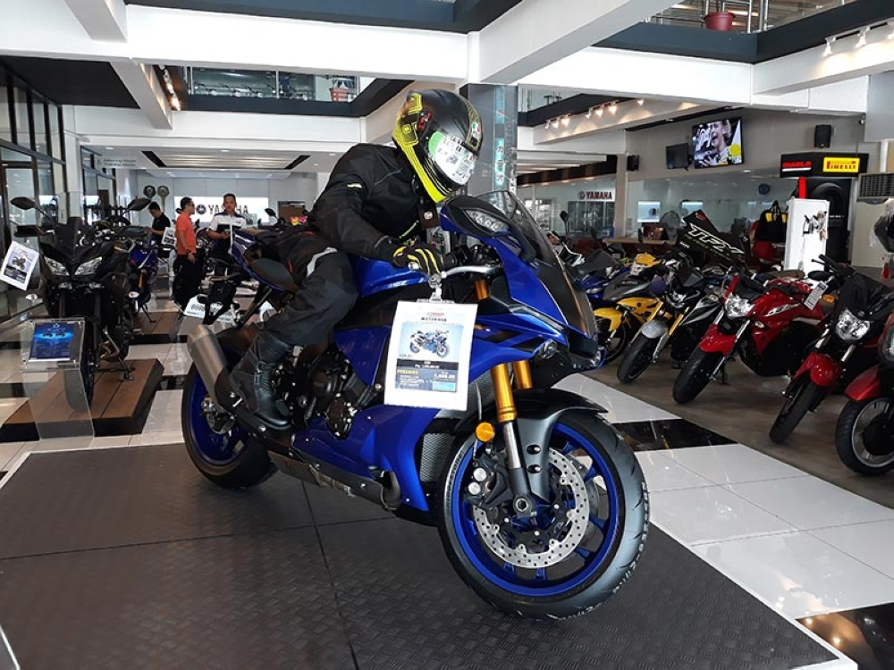 Yamaha Motorhub in Ulas, Davao City is the only Yamaha big bike shop in Southern Mindanao and the biggest in the whole Philippines. (Reuel John Lumawag)
