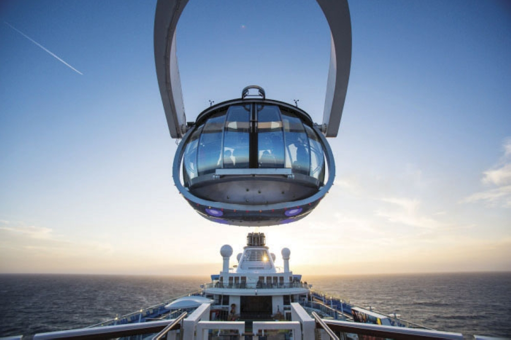 Taking you higher. The sky's the limit at the North Star, a jewel-shaped capsule that can take you over 300 feet above sea level for a 360-degree view of the world.