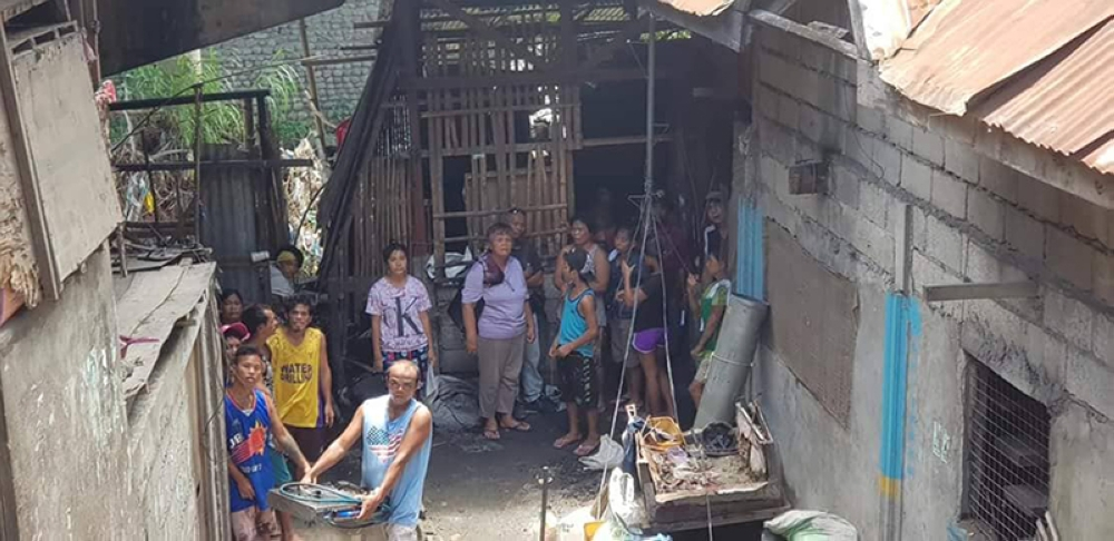 The affected residents say the City Government should have ensured first their relocation site before their houses were demolished yesterday, July 11. (Carla Cañet)