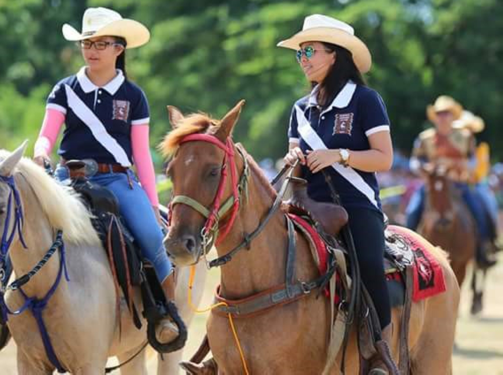 DAVAO. Champion Davao rider Inna Gonzales and Sydney – lifelong bond with horses. (Photo from Davao Oriental Provincial Information Office)