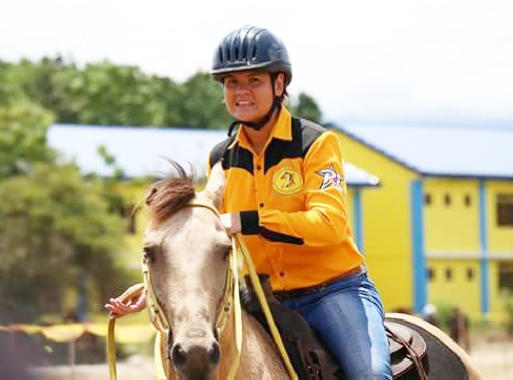 DAVAO. CDO's consistent winner, Rhea Pelaez. (Photo from Davao Oriental Provincial Information Office)