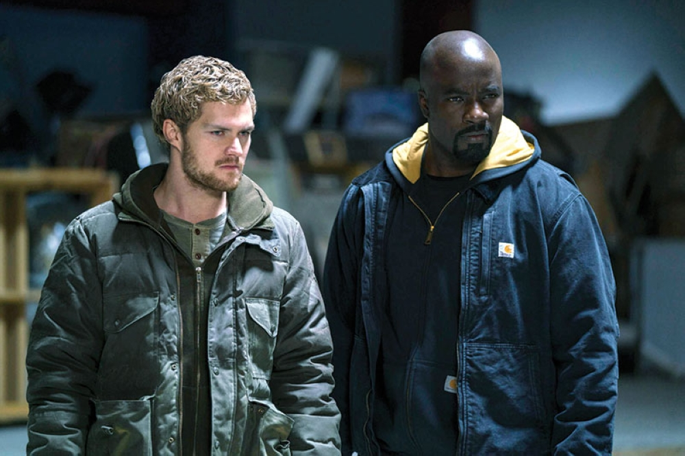FINN JONES AND MIKE COLTER foto / Marvel's The Defenders