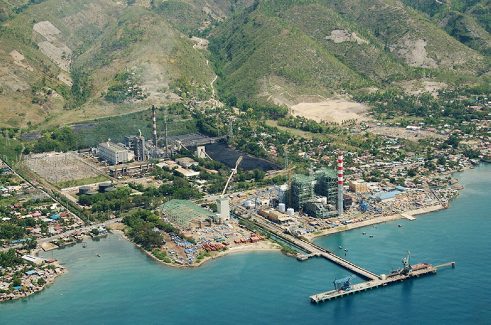 Aerial view of Naga Power Plant Complex in Cebu (File photo)
