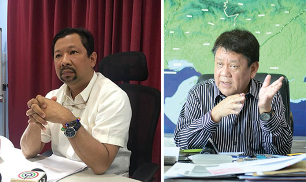 CEBU. Land Transportation Office-Central Visayas Director Victor Caindec (left) and Cebu City Mayor Tomas Osmeña. (SunStar File)