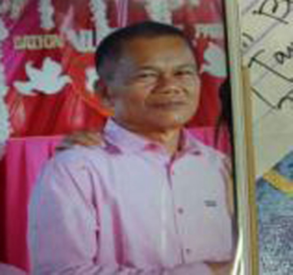 ZAMBOANGA. Police photo handout shows Alejandro Bation, 58, a businessman, who was seized on Sunday, July 15, in the village of Nazareth, Kabasalan, Zamboanga Sibugay. (Bong Garcia)