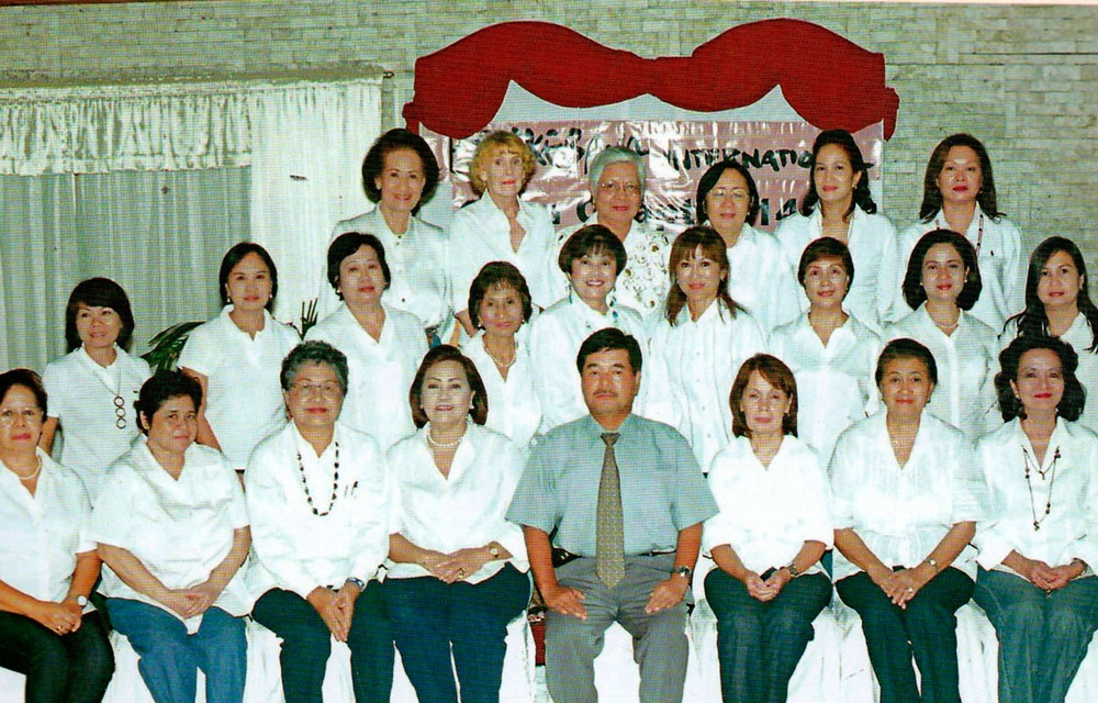 Rotary Club of Cebu Gloria Maris and Ikebana International Cebu Chapter.