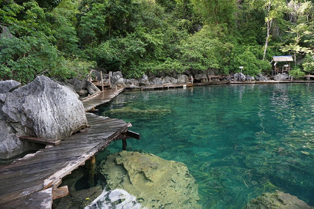 The crystal-clear waters of Kayangan Lake. (Contributed photo)