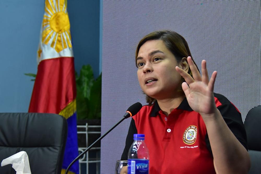 Davao City Mayor Sara Z. Duterte-Carpio (File Photo)
