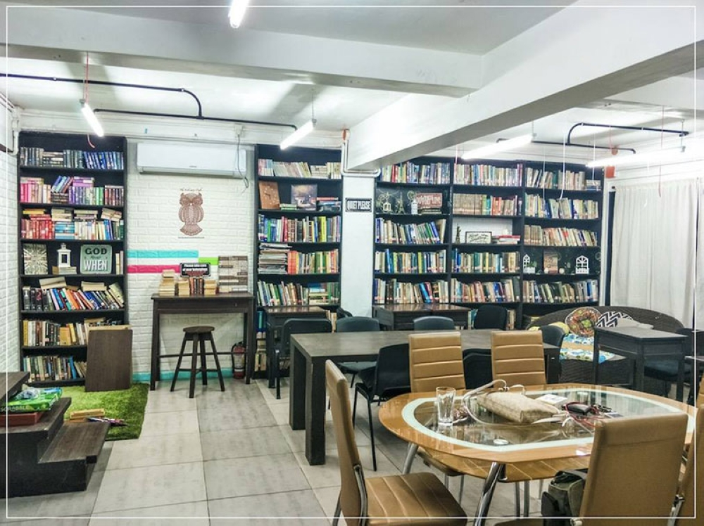 CAGAYAN DE ORO. THE look inside the Librewry Cafe where customers, students and professionals alike, spend their free hours studying and doing work inside the cafe in peace. (Photos from Librewry Cafe Facebook Page)
