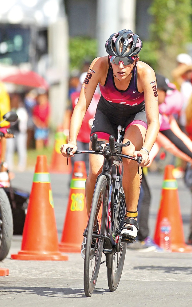 THREE IN A ROW. Radka Kahlefeldt is hoping to add the Ironman Cebu crown to the titles she won in Subic and Davao. (Contributed photo)