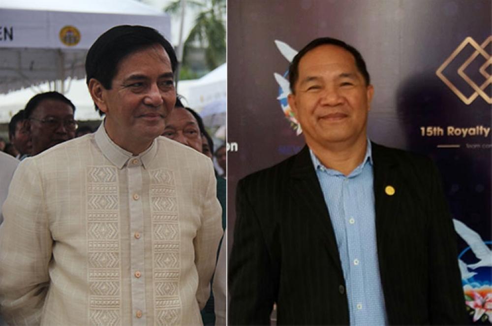 CEBU. Former Cebu City mayor Michael Rama (left) and Aniceto