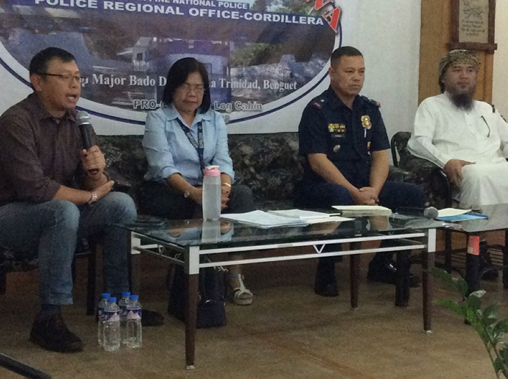 LAGUNA. Regional Advisory Council chairman and former Baguio City Mayor Peter Rey Bautista suggested to the Police Regional Office and Philippine Drug Enforcement Agency Cordillera to look into the possibility of providing marijuana for medical research to the Department of Health research facility in Laguna. (Jonathan Llanes)