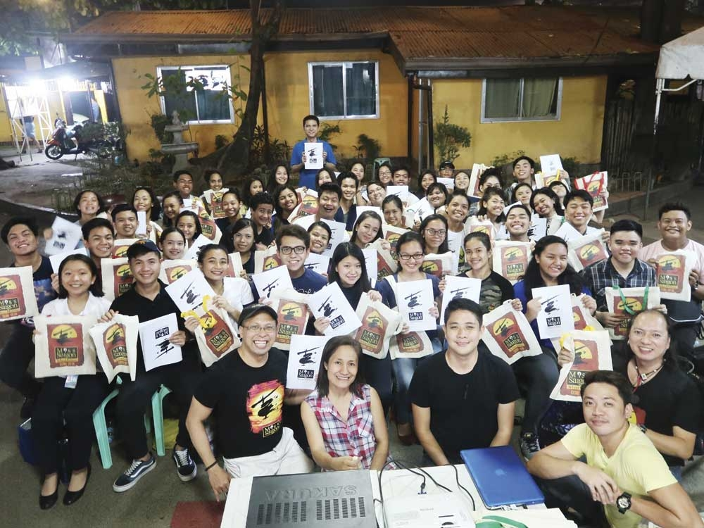 """THE CAST and crew of """"Miss Saigon (School Edition)."""""""