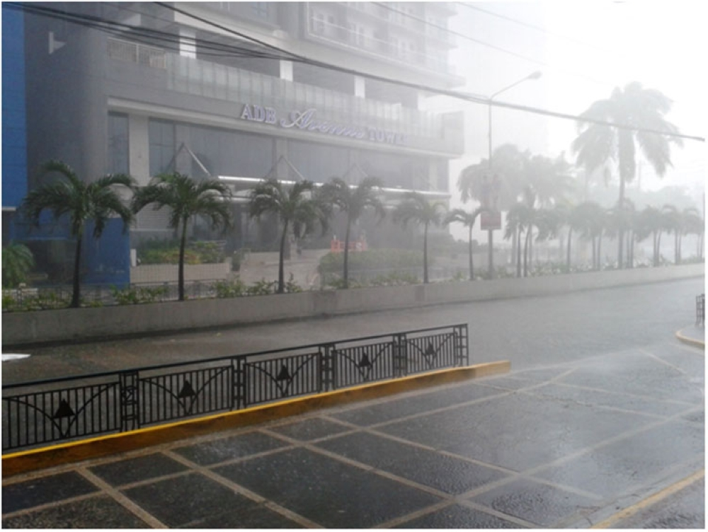 MANILA. Rainfall in Metro Manila could become more unpredictable due to climate change, based on a study by Pagasa. (Contributed photo)