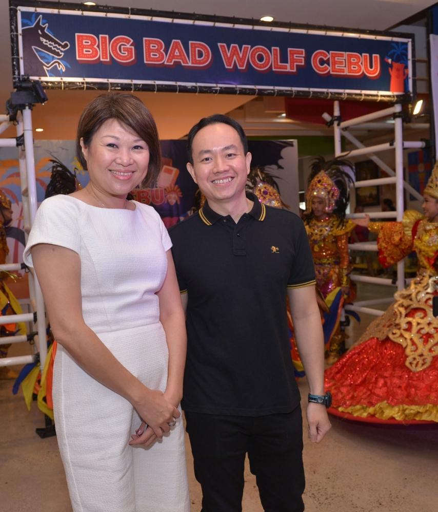 Big Bad Wolf's Jacqueline Ng & Andrew Yap.