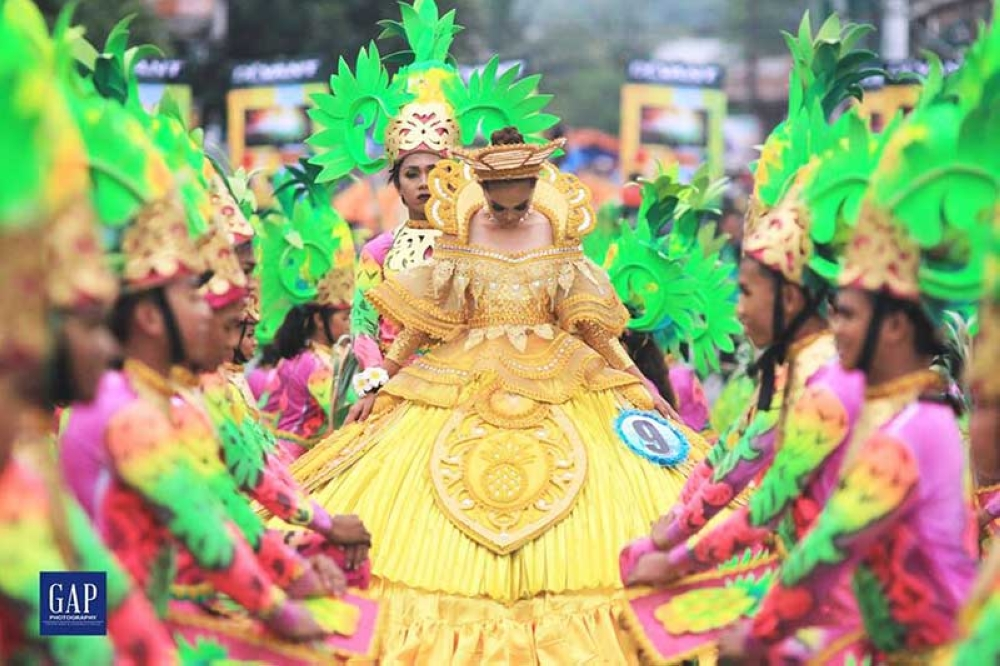 ORMOC. A grander Piña Festival and ritual showdown unfolded in this year's Ormoc City fiesta in honor of its patron saints, Saints Peter and Paul on June 29. (Photo courtesy of Geoffrey Aparis)