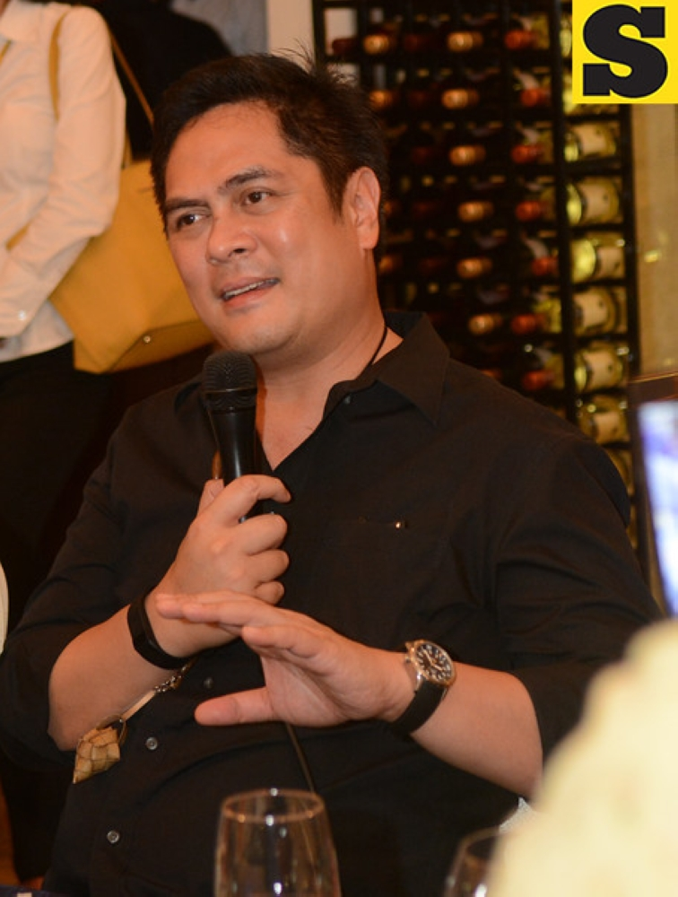 CEBU. Presidential Communication Secretary Martin Andanar during a dinner meeting with members of the Cebu media in Cebu City. (SunStar File Photo)