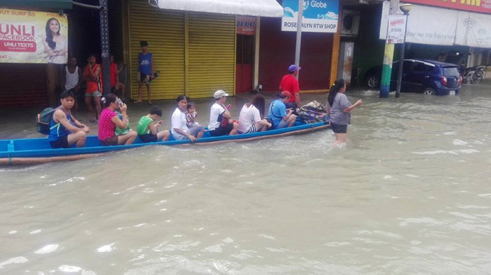 Flooding in Dagupan City, Pangasinan (Photo courtesy of Liway Manantan-Yparraguirre)