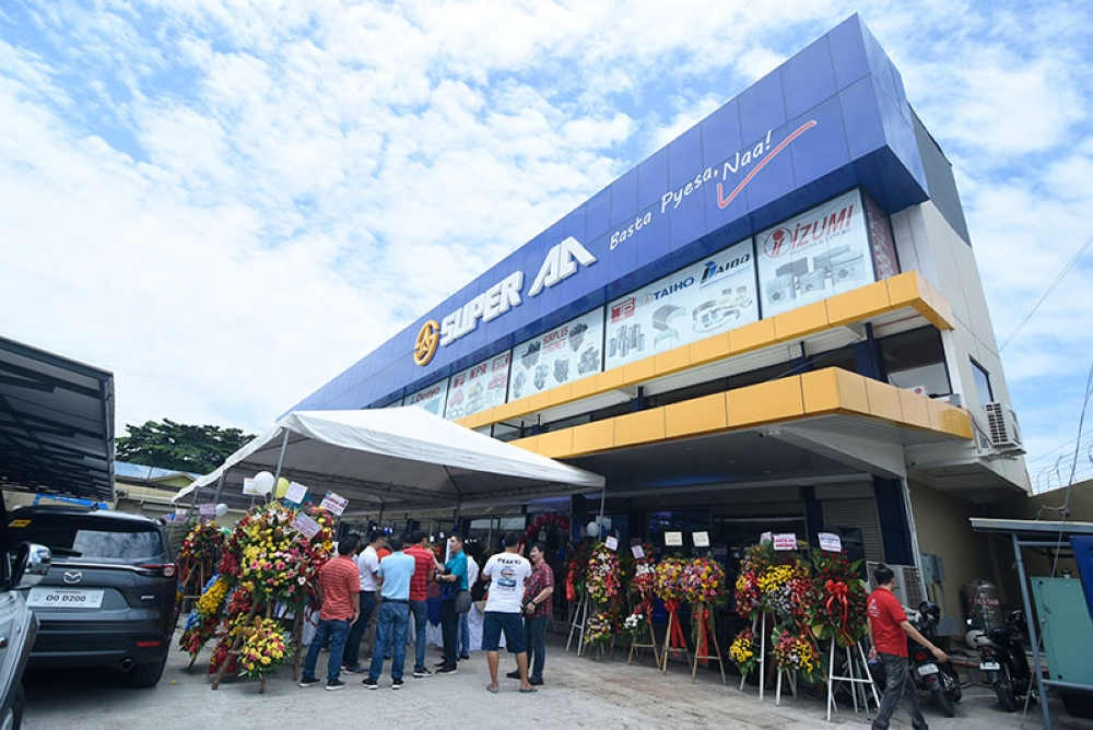 DAVAO. The Super AA Cabaguio branch is now open offering a wide range of car parts and other needs especially for high trucks. (Mark Perandos)