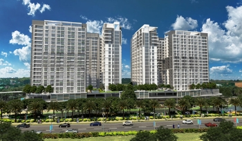 The soon-to-rise One Lakeshore Drive in Lanang, Davao City (Suntrust Properties, Inc.)