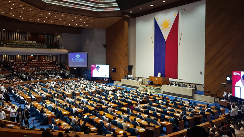 MANILA. The House of Representatives opens its third regular session of the 17th Congress. (Photo by Carla N. Cañet/SunStar Bacolod)