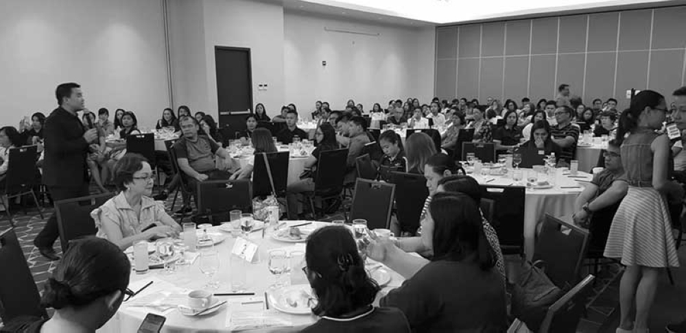 BACOLOD. More than a hundred Negrenses attend the Sun Life forum on financial wellness and security held at Seda hotel in Bacolod City on Saturday, July 21.