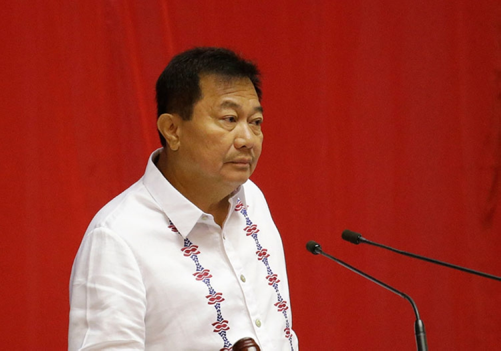 MANILA. Members of the House of Representatives are conducting a special session to finalize a move to oust Speaker Pantaleon Alvarez after the third State of the Nation Address of President Rodrigo Duterte on July 23, 2018. (AP)