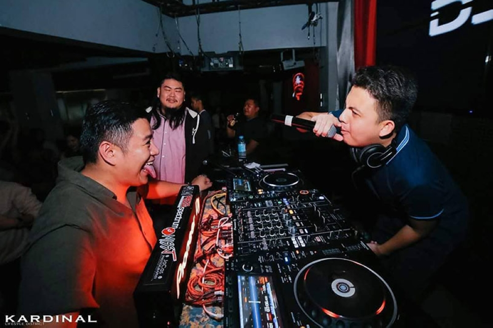 CAGAYAN DE ORO. Twenty-four-year-old Kyle Banaag working as a DJ in one of his gigs. (Photo from Kyle Banaag's Facebook account)