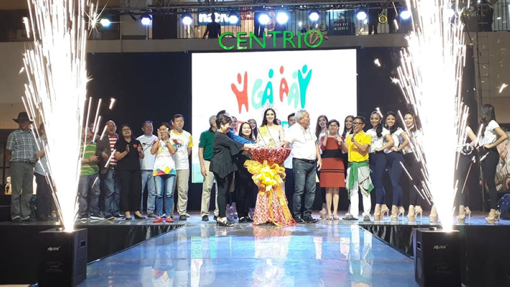 CAGAYAN DE ORO. The grand launching of Higalaay Festival 2018 on July 22, 2018 in Centrio Ayala Mall. Present during the launching were Cagayan de Oro City Mayor Oscar Moreno, City Fiesta Executive Committee Head Eileen San Juan, Miss Cagayan de Oro 2017 Katrina Laurice Acaylar, and the candidates for this year's Miss CDO. (Jo Ann Sablad)