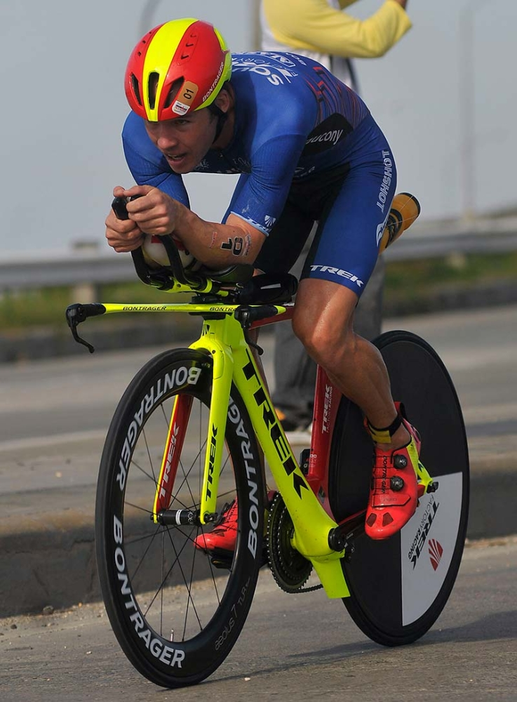 BEST OF THE BEST. Three-time champion Tim Reed will be joined by 47 of the best male and female triathletes in the country when he competes in the Asia Pacific 70.3 Championships on Aug. 5. (SunStar File)