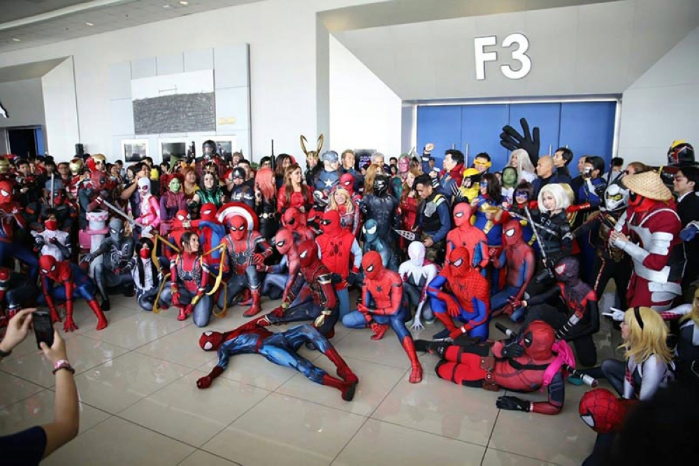 MANILA. Cosplayers and other pop culture geeks gather for the AsiaPOP Comicon annual international pop culture convention in Metro Manila on July 27 to 29, 2018. (Photo from APCC)