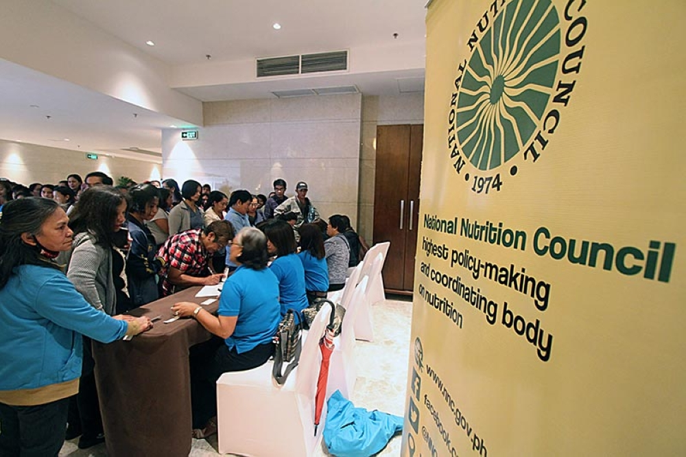 BAGUIO. Some 442 barangay nutritionists, parent volunteers and Department of Education parents from Baguio and Benguet register to join the Nutrition Month and Food Gardening Congress in Baguio with emphasis in urban farming for healthier meals on July 28. (JJ Landingin)