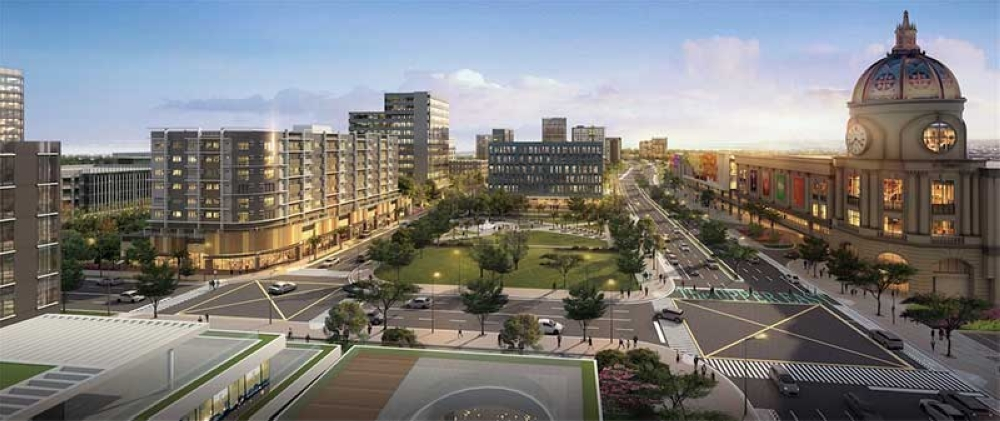 BACOLOD. The master plan of the 34-hectare township project of Megaworld Corp. in Bacolod City. (Contributed Photo)